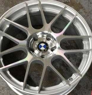 "19"" Used Rims (Staggered)"