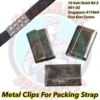 Metal Clip For PVC Packing Strap