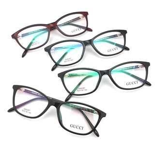 Paket Lensa Minus - frame kacamata fashion wanita (Gucci 287)