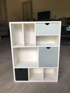 Draw and shelf set