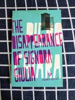 Pushkin Vertigo The disappearance of signora giulia #SBUX50