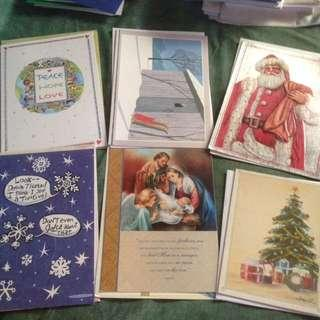 Bundle of Christmas Cards and Healing Mass Cards
