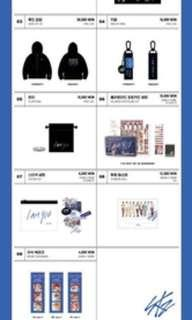 PO / wts stray Kids unveil 03 goods