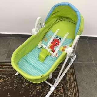 PRICE REDUCED!! Light Baby Cradle Swing Rocker