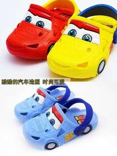 boys slipper fashion car
