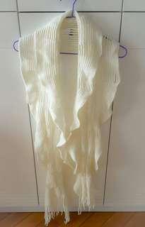 Scarf # 1 (Ivory White)
