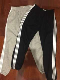 Striped Sweatpants/Joggers (Adidas dupe)