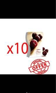 Optrimax Plum X10 pieces with BOX