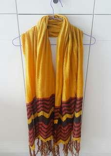 Scarf # 3 (Yellow Brown)