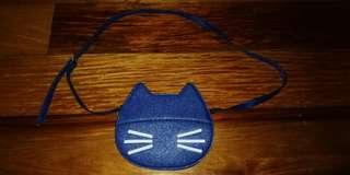Blue Cat Sling Bag