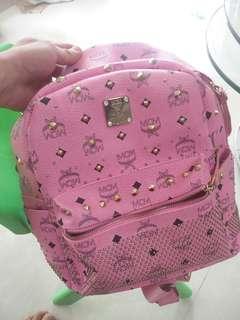 Used Backpack (MCM lookalike) with slight peels #SpringCleanandCarousell50