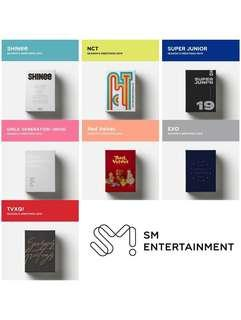 SM ARTISTS 2019 SEASON GREETINGS