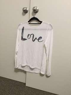 "Thin ""Love""Jumper"