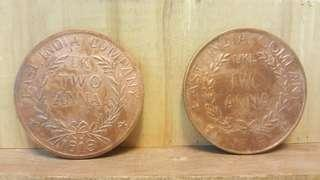 Antique (200 yrs) Old Coin of East India Company