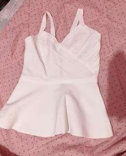 knit putih tebal