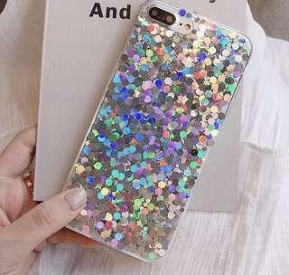 Glitter case iPhone 8+