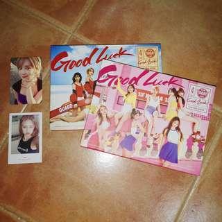 🚚 aoa good luck albums