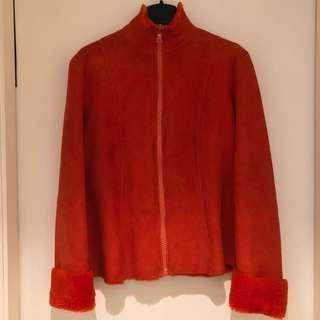MIU MIU LAMBSKIN LEATHER JACKET  皮褸 外套