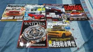 Top Gear Malaysia magazines