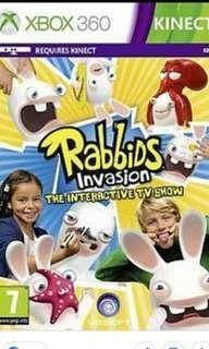 Xbox 360 kinect rabbids invasion