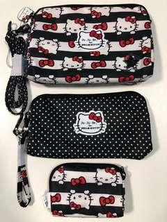 BNWT Hello Kitty Dots & Stripes Be Set (Complete) *Below Retail Price*