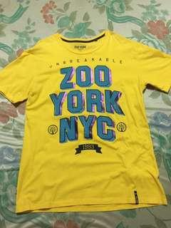 Preloved Zoo York Yellow Shirt