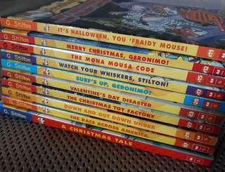 Geronimo Stilton (9 books)
