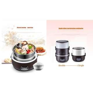 🆕🆒 ELB-2018 2L Lunch Box/Rice Cooker/Stainless Steel 304 Tank/English Manual and SG PIug/S Layer