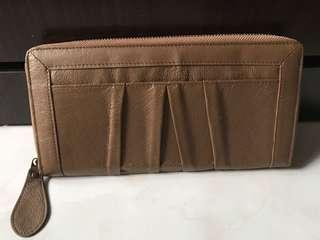 Long Travel Leather Wallet