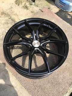 "Rims Rays 57Fxx wheels 20"""