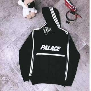 Palace Skateboard Glow in the Dark Hoodie Pullover Sweater