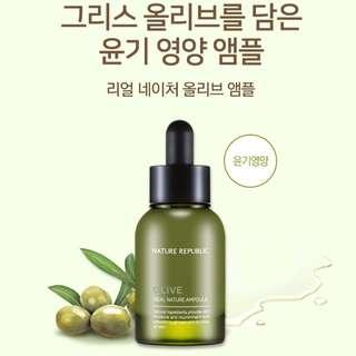 NATURE REPUBLIC Real Nature Olive Ampoule 30ml
