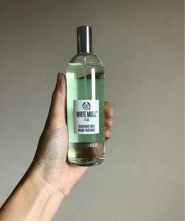 FREE POSTAGE The Body Shop White Musk L'eau Fragrance Mist
