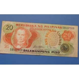 Philippines P20 Anfg Bagong Lipinan