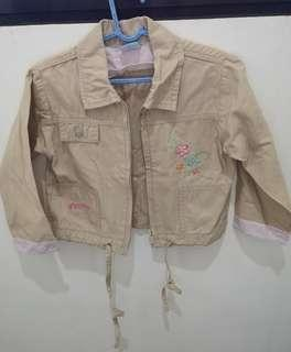 Almost New! Disney Baby Khaki Jacket