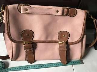 Sweet pink sling bag