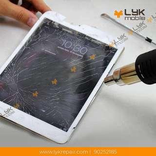 IPad Crack Screen Repair , iPad LCD Crack Repair