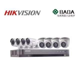 Hikvision 4ch 8ch 16ch FullHD CCTV bundle/package