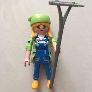 Playmobil Figures Series 4 耕種少女摩比人