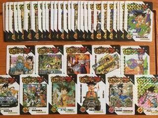 Dragonball Prism Fans Card
