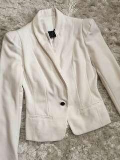 White Blazer/white coat