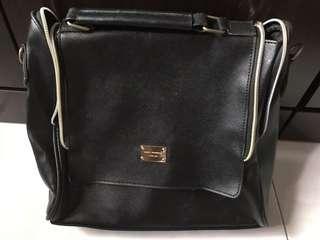Black Korean Sling Bag