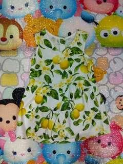 Lemon Dress Tiny 18