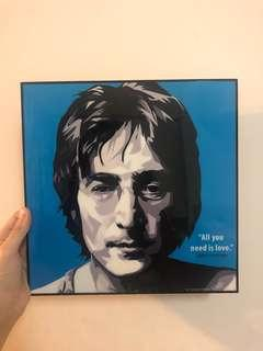 🚚 約翰藍儂 John Lennon普普風掛畫
