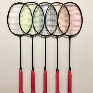 [NOV SALES] Brand New Taiwan Black Cyclone Limited Edition Badminton Racket