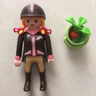 Playmobil Figures Series 3 馬場少女摩比人