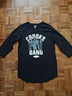 Crooks & Castles Baseball Shirt - Sz S