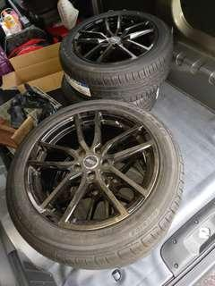 Wts brand new tyres and rim 18inch