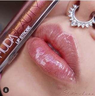 🚚 🌸SALE🌸Huda Beauty Lip Strobe Shameless