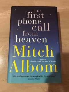 The First Phone Call From Heaven by Mitch Albom hardcover